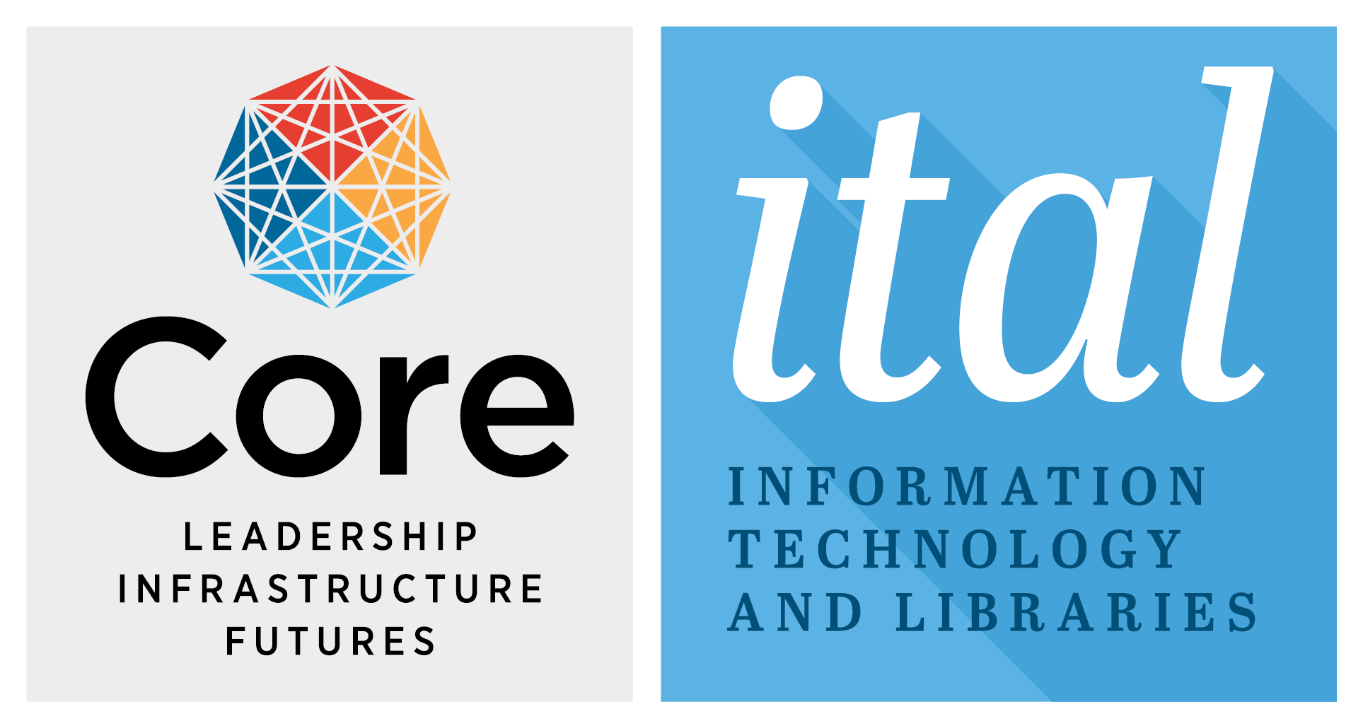 Logo of Core's journal, Information Technology and Libraries